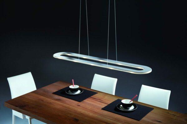 Helestra Pendelleuchte Sima oval LED - Lampen & Leuchten