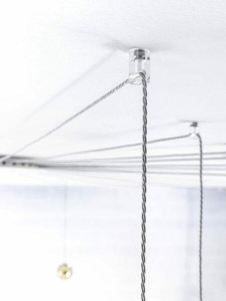 Studio Italia Design Pendelleuchte Spider 10-flammig Detail
