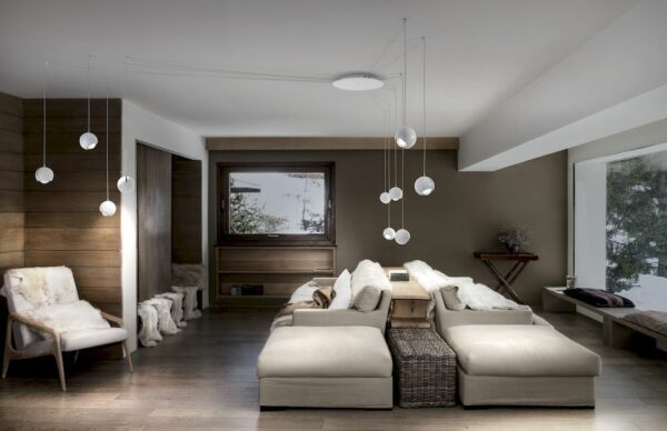Studio Italia Design Pendelleuchte Spider 10-flammig Weiß matt