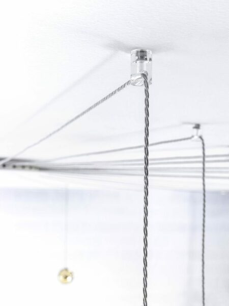 Lodes Pendelleuchte Spider 6-flammig - Esszimmer-Leuchten