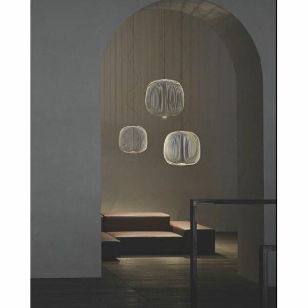 Foscarini Pendelleuchte Spokes 2 Large LED MyLight - Esszimmer-Leuchten