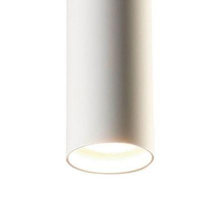 Casablanca Pendelleuchte Tubus Aluminium Weiß matt - Lampen & Leuchten
