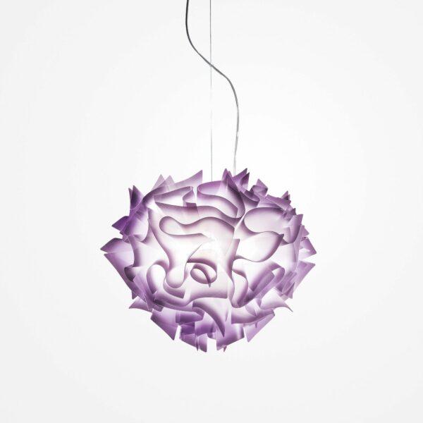 Slamp Pendelleuchte Veli Medium Violett