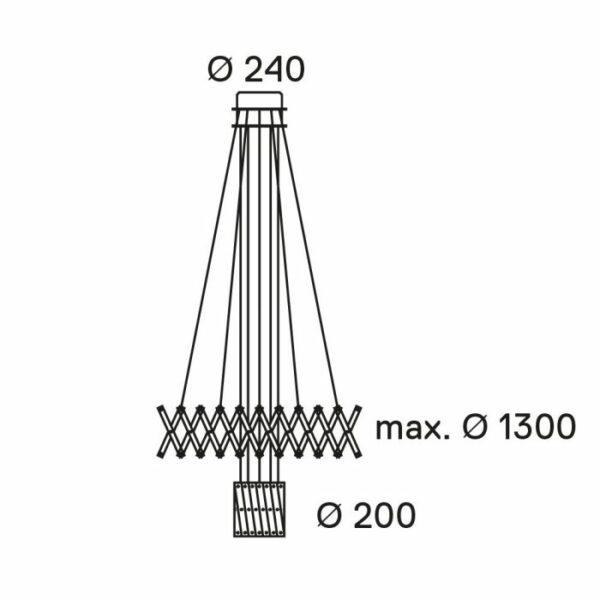Serien Lighting Pendelleuchte Zoom 2 - Esszimmer-Leuchten