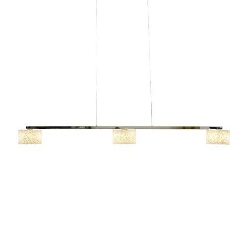 Serien Lighting Pendelleuchte Reef LED Suspension 3 Aluminium poliert