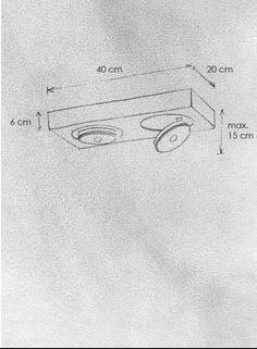 Escale Spotbalken Spot IT LED dimmbar rechteckig - Innenleuchten