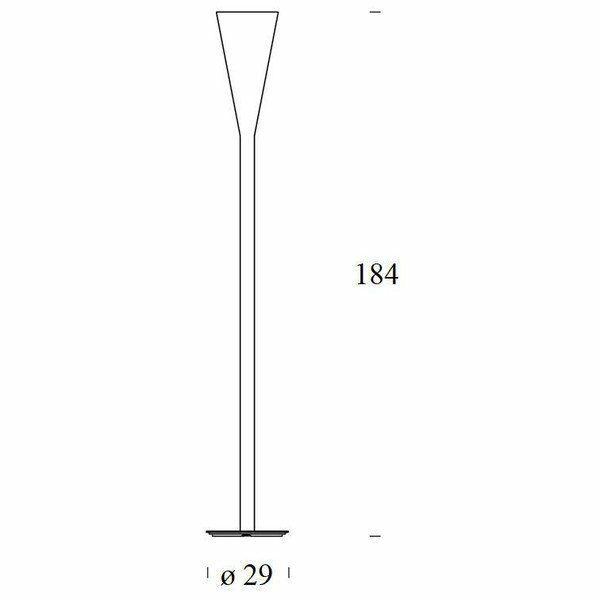 FontanaArte Stehleuchte Riluminator - Lampen & Leuchten