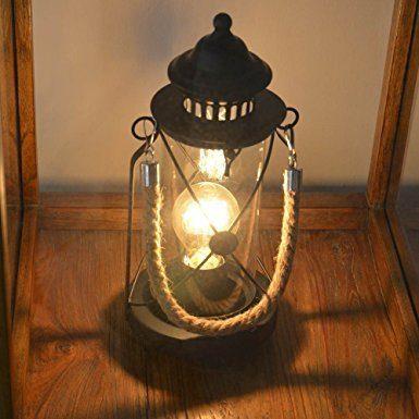 Eglo Tischleuchte 49283 Bradford Schwarz-Antik - Lampen & Leuchten