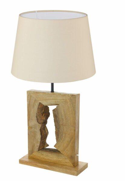 Eglo Tischleuchte 49835 Ribadeo + Schirm 49409 - Lampen & Leuchten