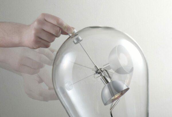 Lodes / Studio Italia Design Tischleuchte Blow - Lampen & Leuchten