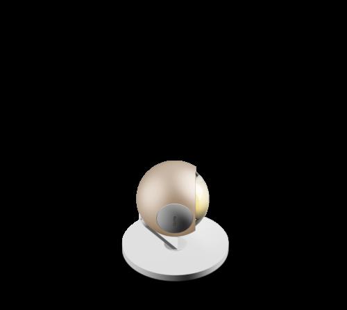 Occhio Tischleuchte io 3d Basso LED - Tischleuchten Innen