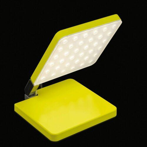 Nimbus Tischleuchte Roxxane Fly LED tragbare mit Akku Gelb Neon - Tischleuchten Innen