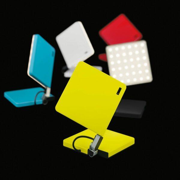 Nimbus Tischleuchte Roxxane Fly LED tragbar mit Akku Rot - Aktion
