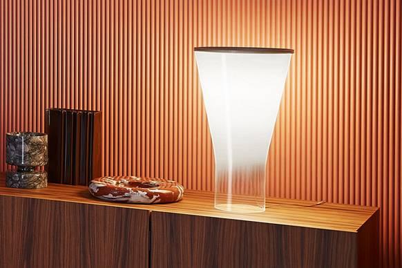 Foscarini Tischleuchte Soffio - Lampen & Leuchten