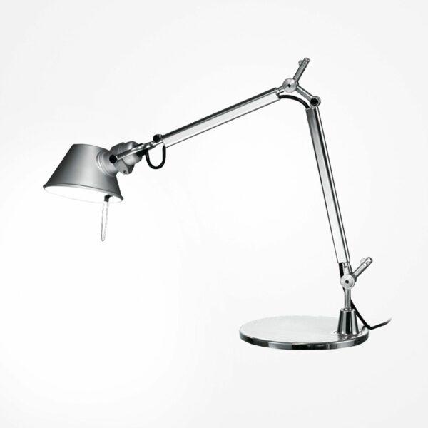 Artemide Tischleuchte Tolomeo Mini Tavolo LED inkl. Tischfuss Aluminium/Chrom