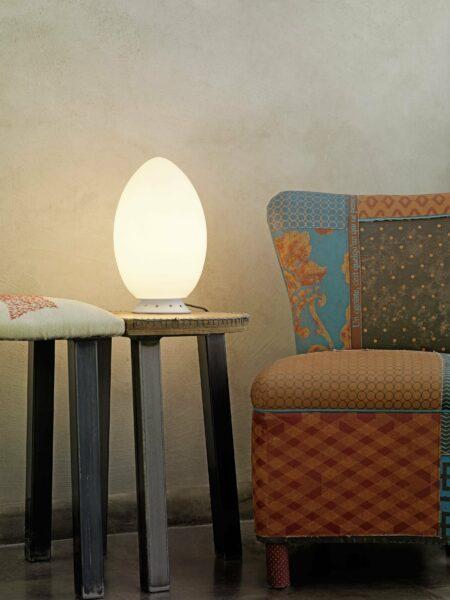 FontanaArte Tischleuchte Uovo - Tischleuchten Innen