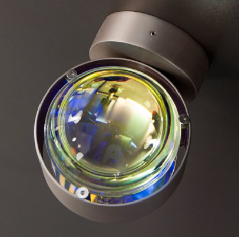 Top Light Wandleuchte Puk Wall LED inkl. zwei klare Linsen - Wandleuchten Innen