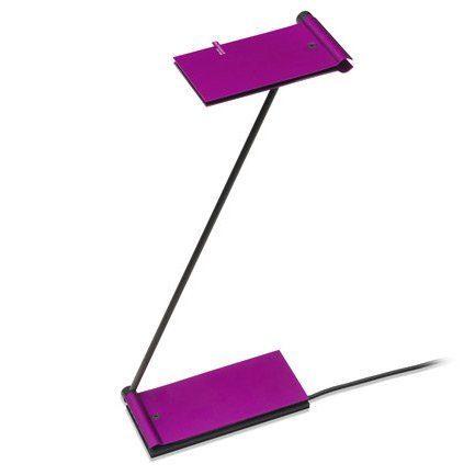 Baltensweiler Tischleuchte USB ZETT Aubergine