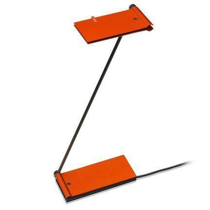 Baltensweiler Tischleuchte USB ZETT Mandarine
