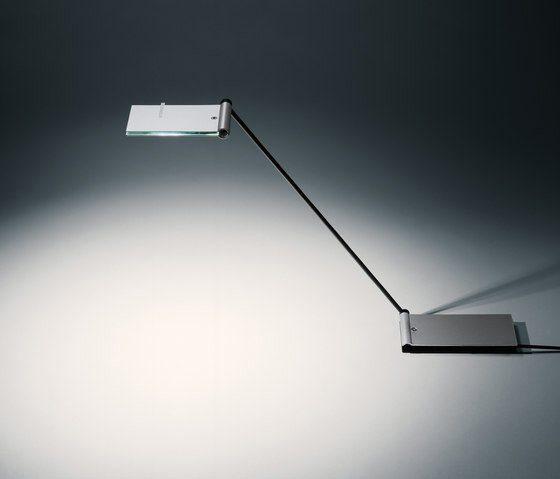 Baltensweiler USB ZETT Aluminium - Tischleuchten Innenbereich