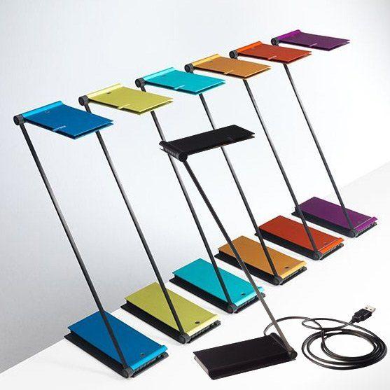 Baltensweiler Tischleuchte USB ZETT