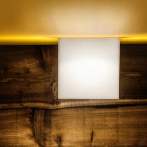 Studio Italia Design Wand- und Deckenleuchte Beetle Cube Mini - Deckenleuchten Innen