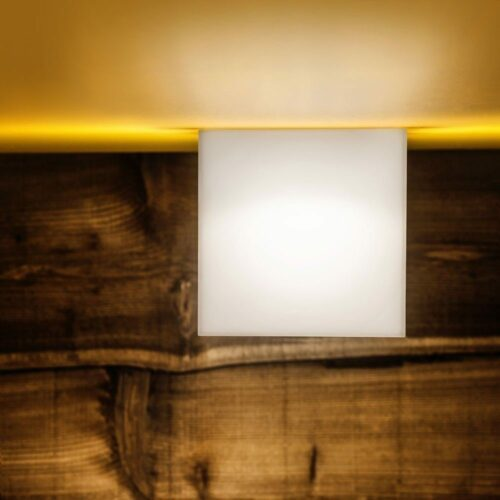 Lodes / Studio Italia Design Wand- und Deckenleuchte Beetle Cube Mini - Open Box