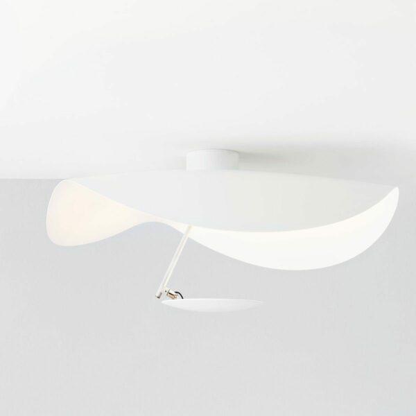 Catellani & Smith Wand- und Deckenleuchte Lederam Manta CWS1 - Wandleuchten Innen