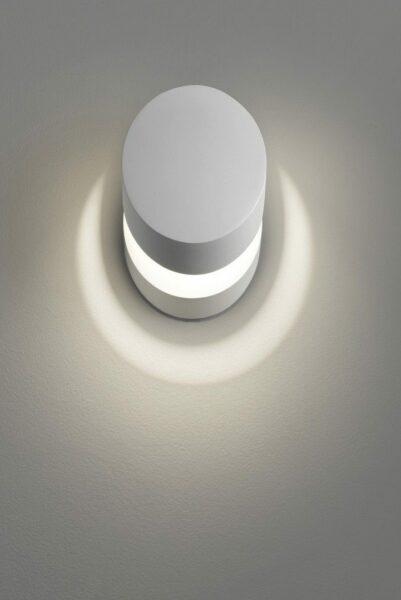 Studio Italia Design Wandleuchte Pin-Up Weiß matt