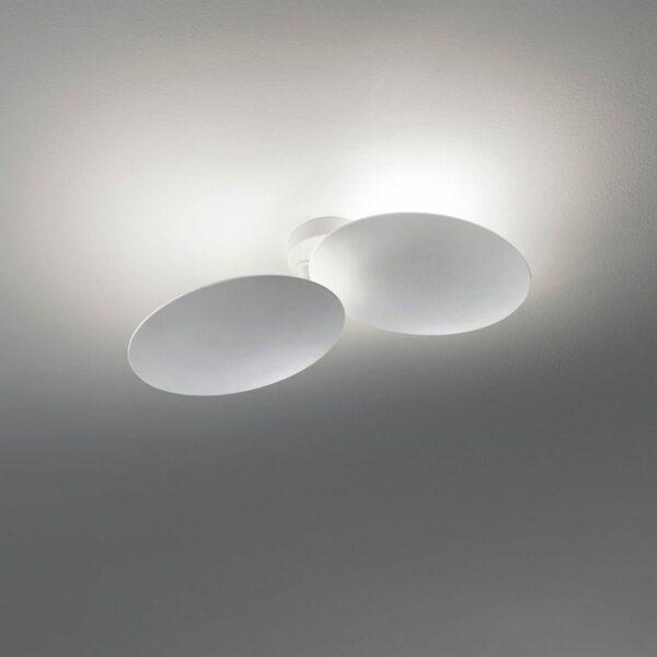 Lodes / Studio Italia Design Wand- und Deckenleuchte Puzzle Round Double 3000 K - Lampen & Leuchten