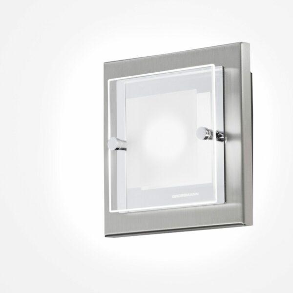 Grossmann Wand- und Deckenleuchte Domino LED 1-flammig - Wandleuchten Innen