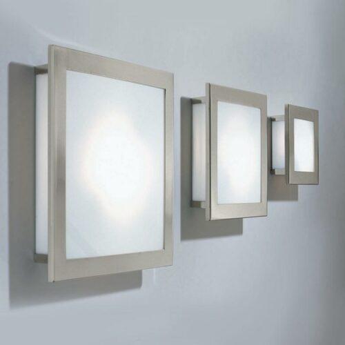 Decor Walther Wand- und Deckenleuchte Kubic Nickel - Deckenleuchten Innen