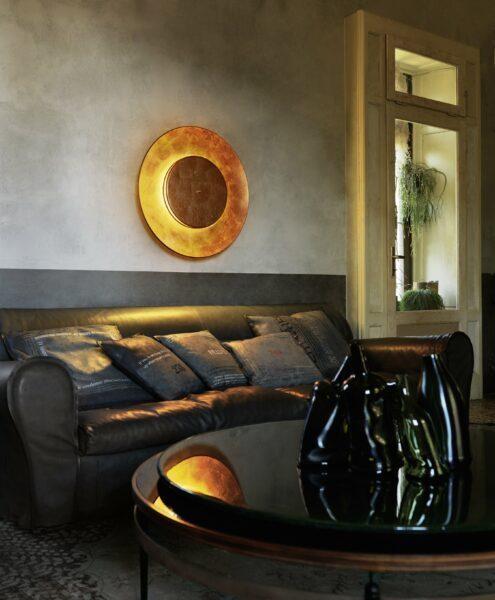 FontanaArte Wand- und Deckenleuchte Lunaire - Lampen & Leuchten