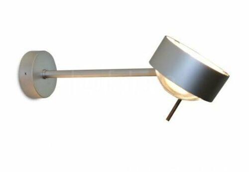 Top Light Wand- und Deckenleuchte Puk Wing Single LED Chrom matt