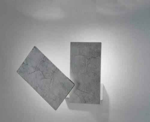 Braga Wand- und Deckenleuchte Time Blattsilber