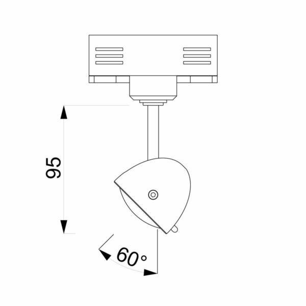 Less 'n' More Wand- und Deckenstrahler Fyps - Lampen & Leuchten
