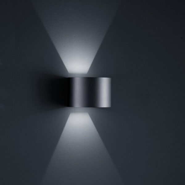 Helestra Wandaußenleuchte Siri 44-R - Lampen & Leuchten
