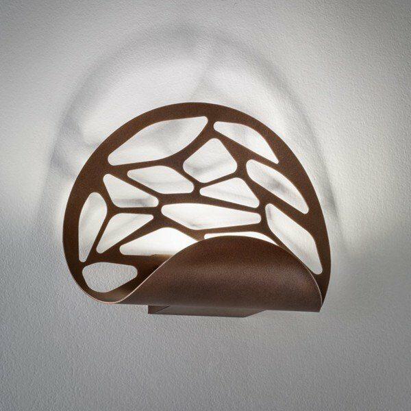 Studio Italia Design Wandleuchte Kelly kupferfarbene Bronze