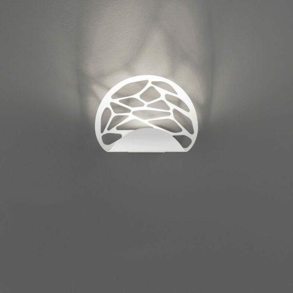 Studio Italia Design Wandleuchte Kelly Weiß matt