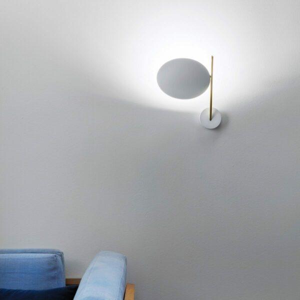 Catellani & Smith Wandleuchte Lederam WB1 - Lampen & Leuchten
