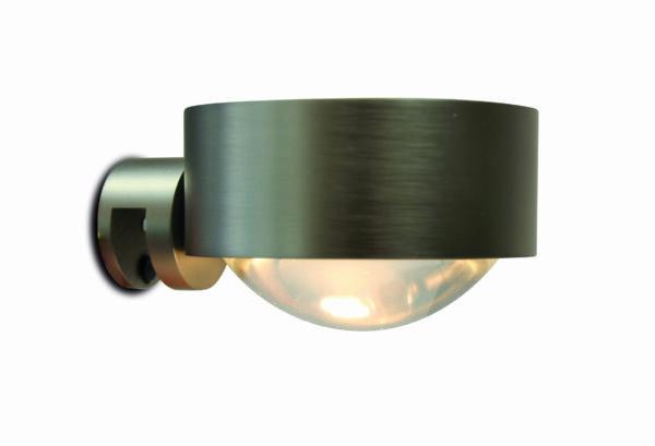 Top Light Wandleuchte Puk Wall LED Nickel matt
