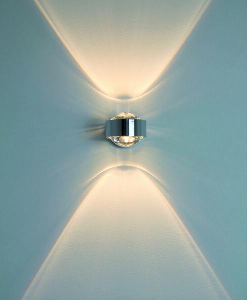 Top Light Wandleuchte Puk Wall LED Chrom