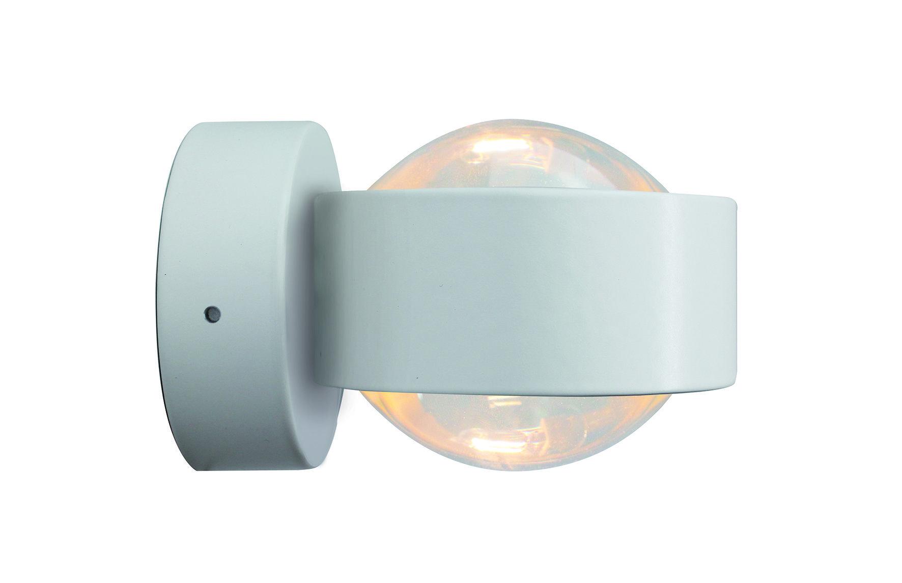 Top Light Wandleuchte Puk Wall LED LED Weiß