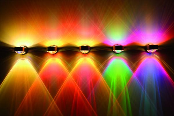 Top Light Wandleuchte Puk Wall + LED drehbar