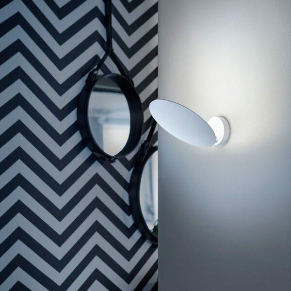 Lodes / Studio Italia Design Wandleuchte Puzzle Round Single 3000 K - Lampen & Leuchten