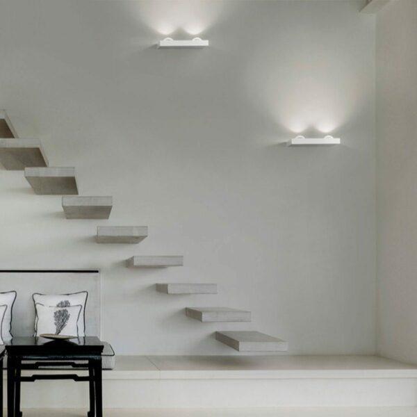 Lodes / Studio Italia Design Wandleuchte Shelf Double - Lampen & Leuchten