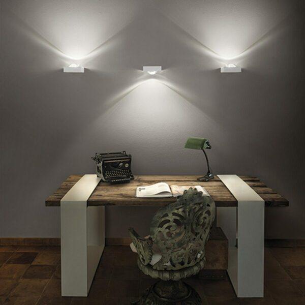 Studio Italia Design Wandleuchte Shelf Single - Wandleuchten Innen