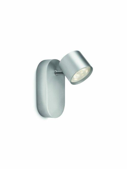 Philips Wandleuchte Star 1-flammig Aluminium Spot LED - Deckenleuchten Innen