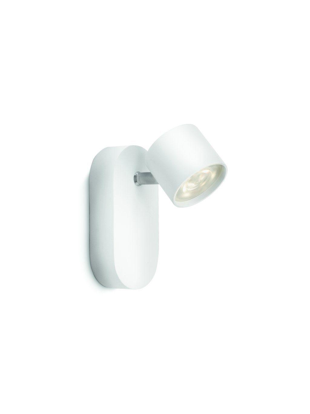 Philips Wandleuchte Star 1-flammig Weiß Spot LED - Deckenleuchten Innen