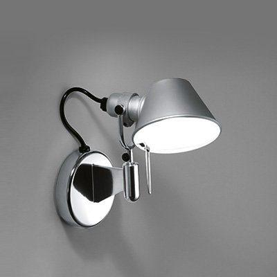 Artemide Wandleuchte Tolomeo Micro Faretto LED ohne Kippschalter - Wandleuchten Innen